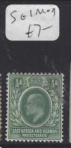 EAST AFRICA AND UGANDA (P2510B) KE  1/2A  SG 1   MOG