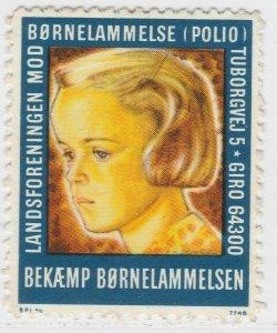 Bornelammelse Polio Cinderella Poster Stamp Reklamemarken A7P5F181