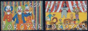 STAMP STATION PERTH Faroe Islands #414-415 Fa423-424 MNH CV$3.70