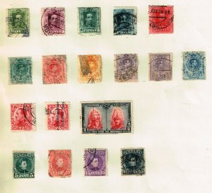 SPAIN STAMP USED STAMPS COLLECTION LOT