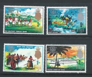 Fiji MNH 229-32 Tourism 1967