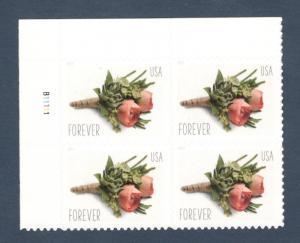 5199 Celebration Boutonniere US Plate Block Mint/nh (Free shipping)