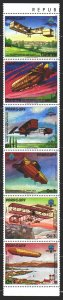 Paraguay. 1984. 3698-03 from the series. Aviation history, aircraft. MNH.
