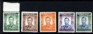 SOUTHERN RHODESIA King George VI 1937 Definitive Part Set SG 40 to SG 52 MNH/LMM