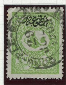 TURKEY; 1901-14 Printed Matter Foreign Mail Optd. issue fine used 10pa. value