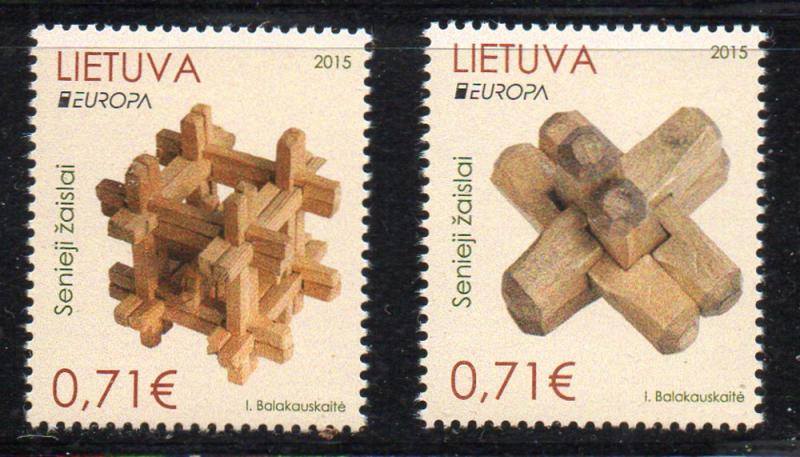 Lithuania Sc 1050-1 2015 Europa stamp set mint NH / HipStamp
