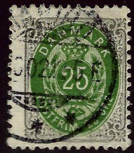 Denmark SC#50 Used Fine...Bid a Bargain!