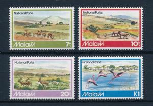 [50817] Malawi 1982 National parks Lions Impala Flamingo MNH