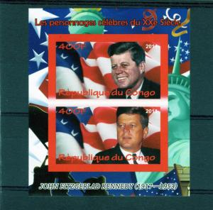 Congo Republic 2011 John F.Kennedy S/S Imperf.MNH VF