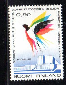 Finland Sc 578 1975 Security Conference stamp NH