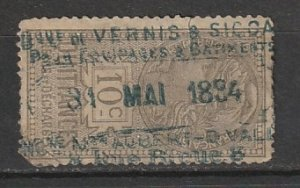 France Used Revenue Issued 1894