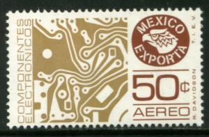 MEXICO Exporta C594, 50¢ Circuit board Wmkd Fosfo Paper 2 MINT, NH. VF.