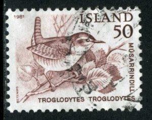 ICELAND #543, USED - 1981 - ICE072AFF6