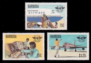 Barbuda 391 - 393 MNH