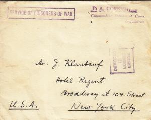 1941, Italian Priest Internment Camp, Diyatalawa, Ceylon, See Remark (C2754)