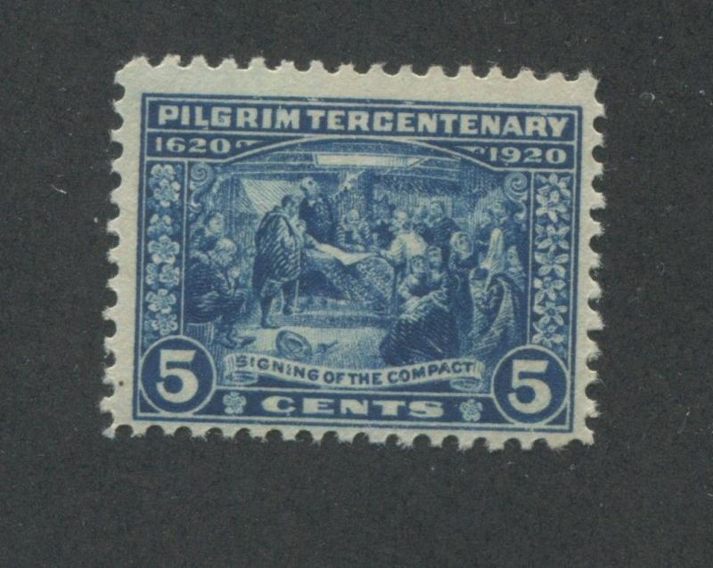 1920 Us 5 Cent Postage Stamp 550 Mint Never Hinged F Vf