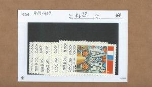 Laos  449-457  MNH