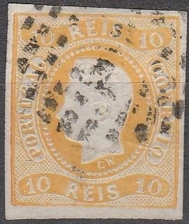 Portugal #18 F-VF Used   CV $140.00 (A16415)