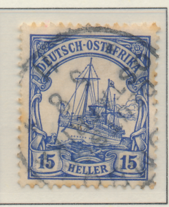 German East Africa Stamp Scott #25, Used - Free U.S. Shipping, Free Worldwide...