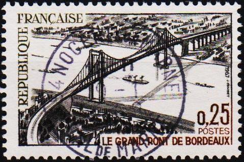 France. 1967 25c S.G.1751 Fine Used