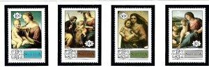 St Lucia 629-32 MNH 1983 Christmas  (KA)