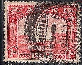 Aden 4 Used - Corner Tear - Dhow
