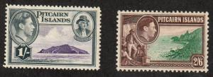 Pitcairn Islands - 1940 - SC 7-8 - H - High values