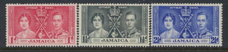 Jamaica  SG 118 - SG 120  - Mint very light trace of hinge - set   see scan a...