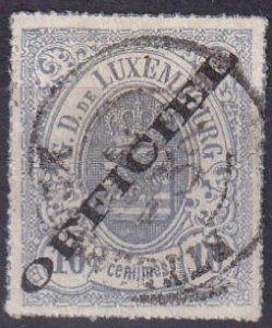 Luxembourg #O3 F-VF Used  CV $2400.00 (V4778)