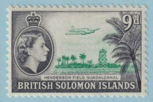 BRITISH SOLOMON ISLANDS 98  MINT NEVER HINGED OG ** NO FAULTS EXTRA FINE!