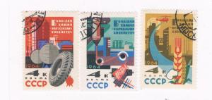 Russia 2872-74 Used set Industry 1964 (R0502)