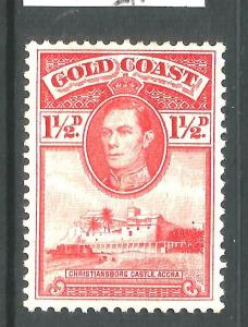GOLD COAST 1938-43  1 1/2d  KGVI PICTORIAL  MNG  SG 122