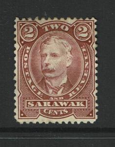 Sarawak SG# 28, Mint No Gum, Hinge Remnant - S980