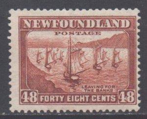 Canada Newfoundland Scott 199 - SG228c, 1932 George V 48c MH*