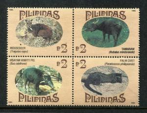 Philippines 2352,  MNH.1995, March 30.  Endemic Philippine Mammals