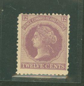 Prince Edward Island 16 Mint F H toned gum