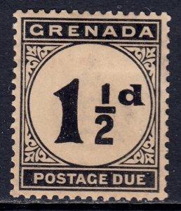 Grenada - Scott #J12 - MH - Heavily toned - SCV $10.00