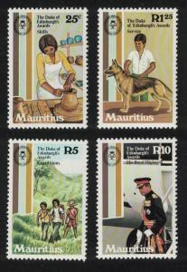 Mauritius Dogs 25th Anniversary of Duke of Edinburgh Award 4v SG#628-632