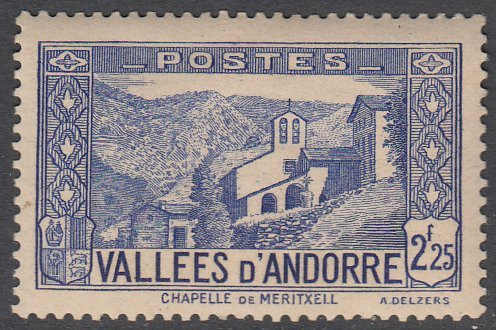 French Andorra 58 MLH CV $9.00