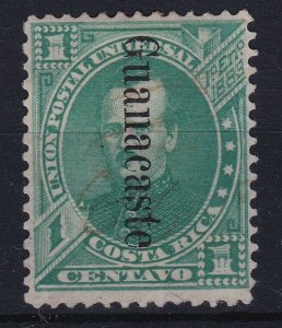 Costa Rica Guanacaste Overprint Scott 23 USED CV$2000