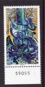 Wallis & Futuna-Sc#711-unused NH set-Poetry of the Seas-2012-