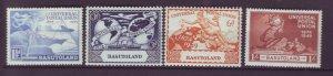 J22011 Jlstamps 1949 basutoland set mh #41-4 upu