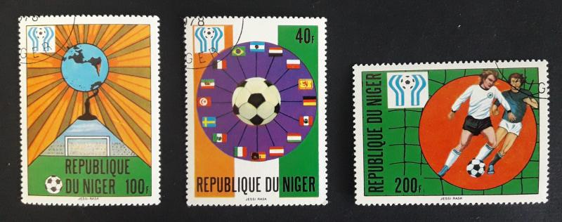 Sport,  Olympian Games, Africa Niger, №85-Т