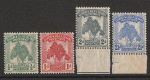 GILBERT & ELLICE ISLANDS : 1911 Pandanas set ½d-2½d MNH **.