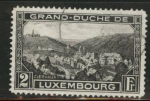 Luxembourg Scott 194 used 1934 Clervaux stamp