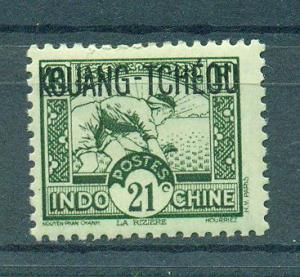 French Offices in China Kwangchowan sc# 122 mnh cat value $.80