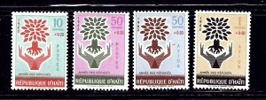 Haiti B28-29/CB45-46 MNH 1962 World Refugee Year    (ap1364)