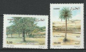 Algeria 2004 Trees 2 MNH Stamps