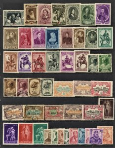 STAMP STATION PERTH Belgium #48 Mint / Used Selection - Unchecked