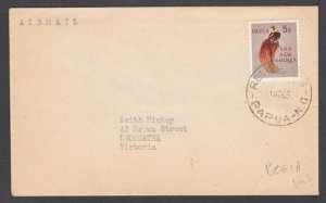 PAPUA NEW GUINEA 1963 cover RELIEF No.3 cds used at BOGIA...................M295